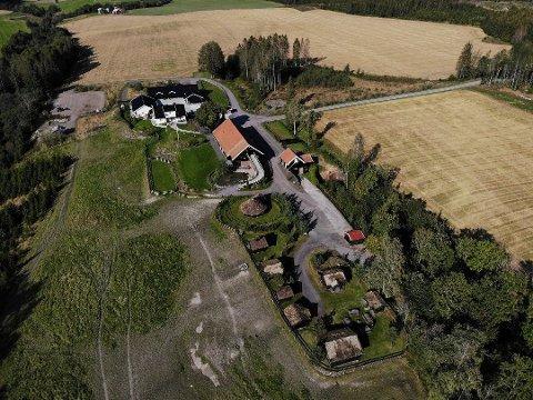 DYREST: Kaupang gård i Holmestrand gikk for 20 millioner kroner i februar.