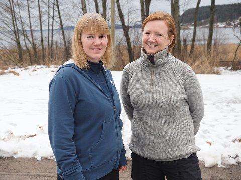 TOPPER: Blant mange gode barnehager i Sande, gjør Vammen Friluftsbarnehage det aller best. Fra venstre daglig leder Pia Hermansen og pedagogisk leder Ingvild Hovi Johansen.
