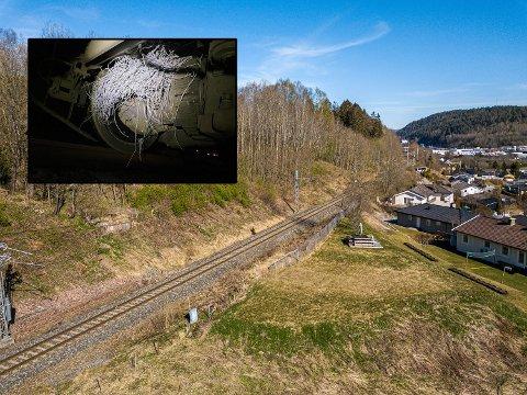 STORE SKADER: På dette strekket i Kobbervikdalen opplever Bane Nor flere uønskede hendelser. – Alvorlig, sier banesjefen.