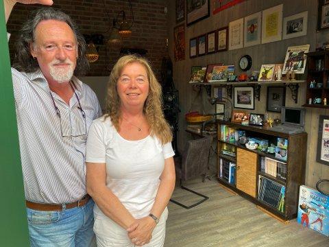 SATSER GLOBALT: Morten Myklebust og Anne Thovsen i Fantasi-Fabrikken satser på digital distribusjon med sin nye Gråtass-film.