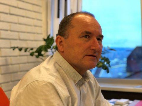 STRENGE TILTAK: Kommunedirektør Hans Erik Utne opplyser at Holmestrand kommune har bedt nasjonale myndigheter videreføre de strenge tiltakene i ytterligere åtte dager.