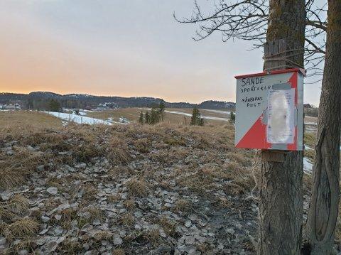 MÅNEDENS POST: Årets første post ligger langs turveien mellom Gutu og Galleberg.