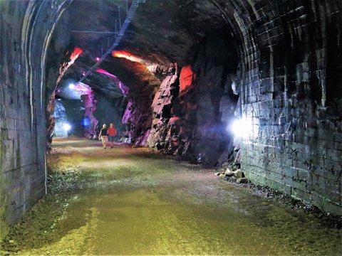 Spennende framtid: Flott etterbruk av jernbanetunnelen som ble bygget på Smørstein for 100 år siden. Nå som en spennende del av den flotte kyststien. Foto: Trygve Eriksen