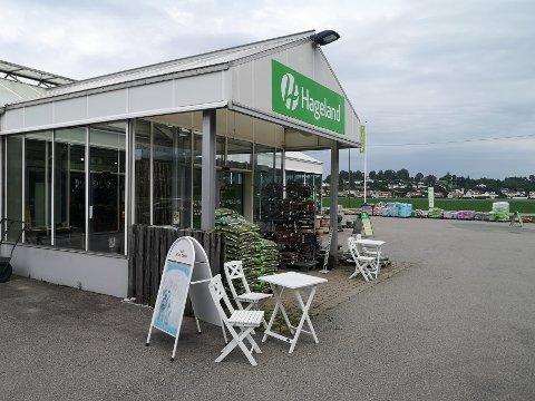 BLOMSTRET: Omsetningen ved Hageland Sande fikk en real oppblomstring i fjor.