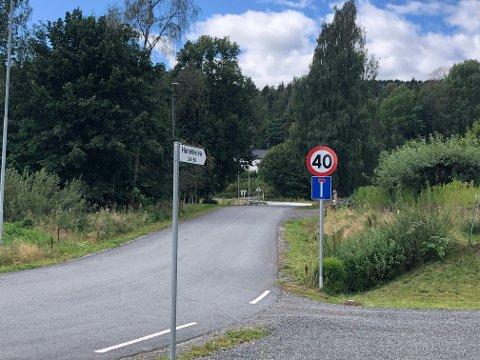 NYTT NAVN: Denne sideveien skal ikke gå under navnet Hanekleiva særlig mye lenger.