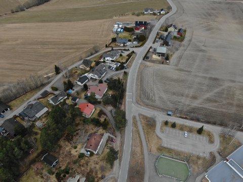 BLE BESKUTT: En familie på Galleberg opplevde at huse deres ble beskutt natt til lørdag.