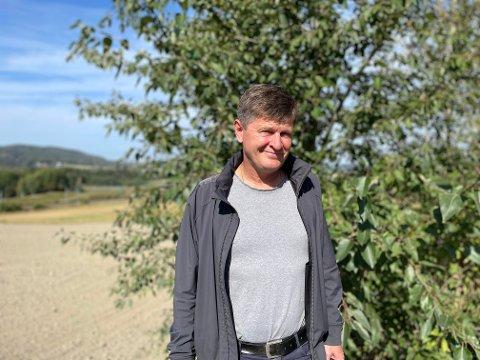 DAVID MOT GOLIAT: Ulf Christer Halfdansen har ikke gått stille i dørene når han har sagt ifra om det han mener er problematisk med gigantutbyggingen på Nordre Jarlsberg Brygge.