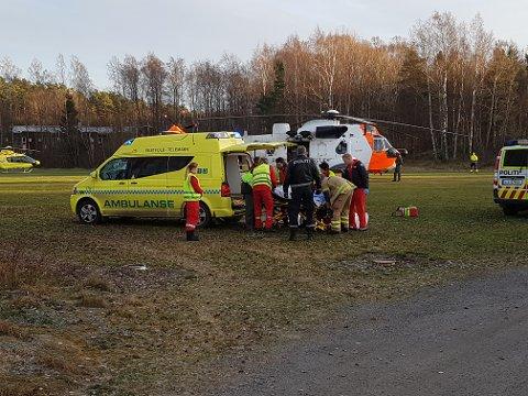 Den 19 år gamle kvinnen var kritisk og livstruende skadet da hun ble fløyet til Ullevål sykehus etter knivepisoden tirsfag 6. desember. Nå er hun på bedringens vei, og blir trolig overført til sykehuset i Tønsberg denne uka.