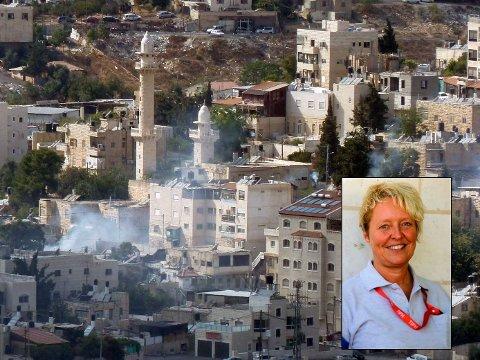 FLYTTER I JULI: Hanne Krogh Lyng Sundbø skal jobbe for palestinernes sikkerhet på Vestbredden.