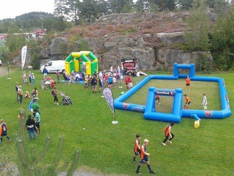 Allle kan bli med: På Idrettsfestivalen vil det være aktiviteter for hele familien.