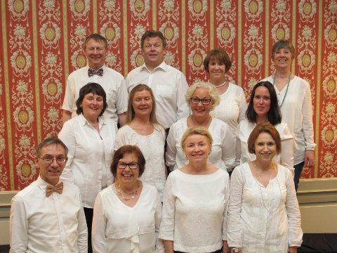 VIL FORTRYLLE: Valen-koret ser fram til å holde konsert i Ishavskatedralen.