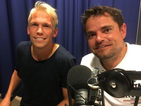 Alexander Gabrielsen og John Sigve Johnsen er ukens gjester i SF-Podden.