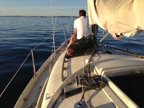 Ro for kropp og sjel: Det er ikke mange ting som slår en solfylt sommermorgen med havsbleike så langt øye kan se.