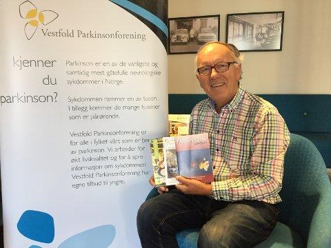 PERSONELIG ERFARING: Trygve Andersen fikk beskjeden om at han har Parkinsons sykdommen for åtte år siden. Nå ønsker han å hjelpe andre som er rammet med råd og veiledning.