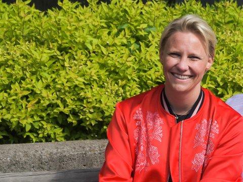 VIL PÅ STORTINGET: – Sosial likestilling, samhold og dugnad er de tre viktigste norske verdiene, mener stortingskandidat for Ap, Maria-Karine Aasen-Svensrud. (Foto fra 2016)
