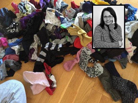 BARE MEG? Er det flere som sliter med at sokkepar skiller seg?