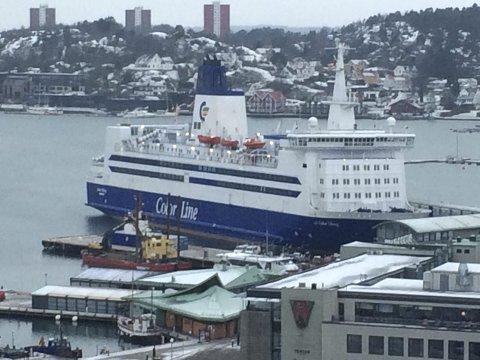 Color Linie: Rød Ungdom står skulder ved skulder med våre arbeidskamerater i Sjømannsforbundet i kampen for sjøfolk for framtida, skriver Tobias Drevland Lund. Foto: Jan Roaldset