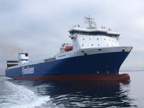 GODSTRANSPORT: Dette skipet skal ikke frakte personer, slik som Bohus og Color Viking, men heller gods.