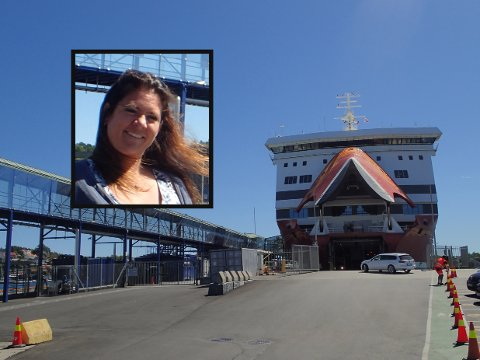 Sandefjord har en offentlig havn - og dermed mottaksplikt, skriver Cathrine Andersen (FrP) (innfelt) i dette innlegget.