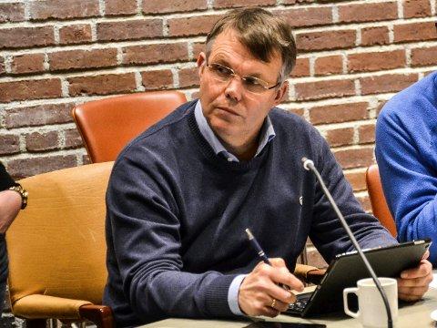 MÅLLØS: Bror-Lennart Mentzoni (KrF) ble helt taus da han via Sandefjords Blad fikk høre at partilederen anbefaler å felle regeringen til Erna Solberg (H).