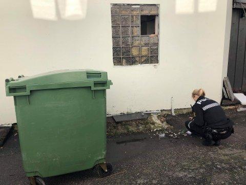 INNBRUDD: Da daglig leder av The Note kom på jobb lørdag formiddag, oppdaget hun raskt at det hadde vært ubudne gjester på besøk. Politiet har vært på stedet og gjort sine undersøkelser og sikret spor.