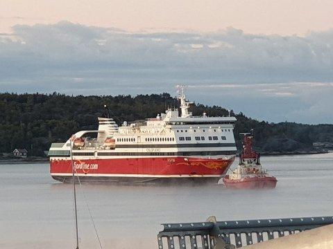 TILBAKE: Oslofjord er tilbake i normal trafikk mellom Sandefjord og Strømstad etter en rekke kanselleringer.