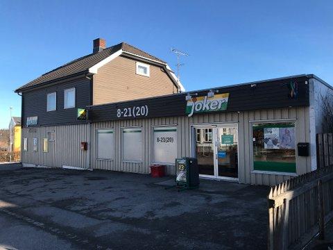 SØKER KJØPER: Selskapet Mat Invest AS vurderer å selge Joker-butikken på Virik i Sandefjord og har nå lagt ut butikken på Finn.