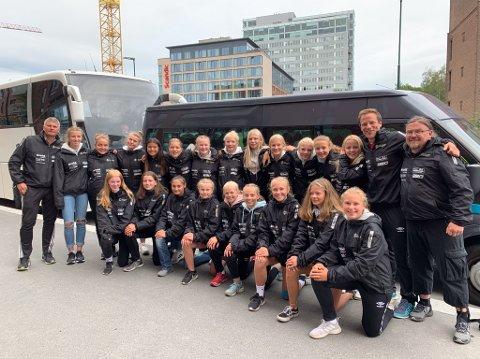 GODE: Runar-jentene har levert gode kamper i Norway Cup. Torsdag starter A-sluttspillet.