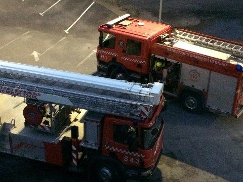 BYTTES UT: Sandefjord Brannvesen får snart en ny lift på 42 meter, og en splitter ny brannbil.