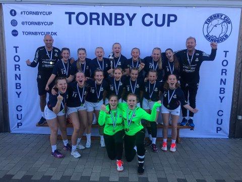 Sandar J16 vinnere av Tornby Cup 2019