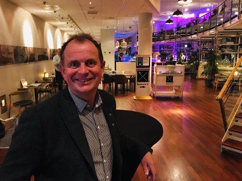 BLID: Bjarne Sommerstad (Sp) kan smile etter lokalvalget. Nå står han og Senterpartiet på vippen i Sandefjord.