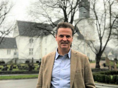 NY SJEF: Raag Rolfsen vil ha lederansvar for alle prestene i Sandefjord prosti.