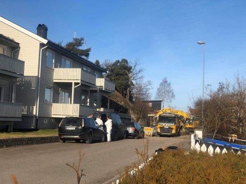 ÅSTED: Drapet fant sted i Lindgaards gate 2. februar 2020.