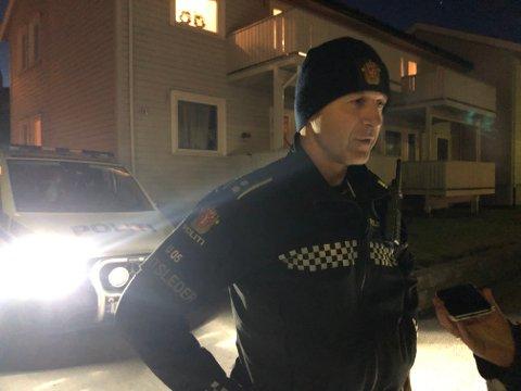 MANN PÅGREPET: Politiet har pågrepet en mann i 40-årene etter at en kvinne ble funnet død i en leilighet i Sandefjord søndag ettermiddag.