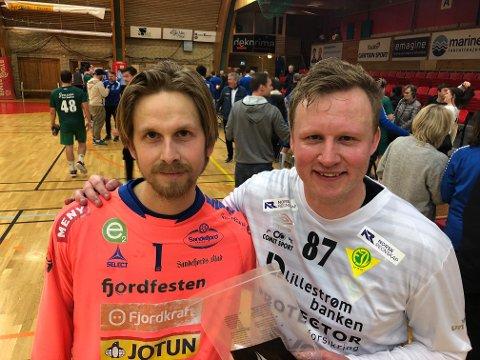 SH-keeper Tarjei Hamborg sto som en konge, men Morten Nergaard i Fjellhammer-målet var Jokeren som sikret borteseier 23-17.