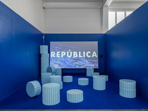 BLÅ: República skal settes opp og vises slik det var på høstutstillingen i 2019.