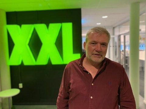 NEDTUR: Øivind Tidemandsen, styremedlem og storeier i  XXL. Foto: Halvor Ripegutu