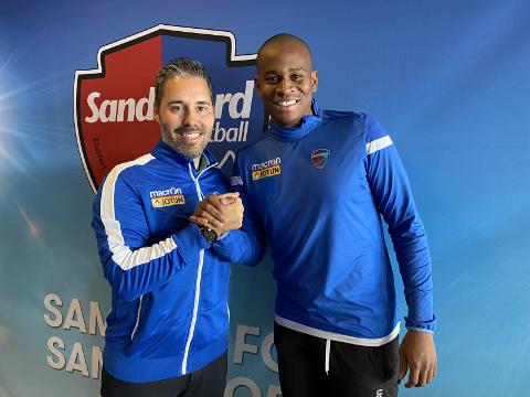 NY MANN: Martì Cifuentes er godt fornøyd med at Zè Eduardo er klar for klubben.