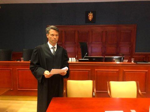 AKTOR: Statsadvokat Håvard Kalvåg mener det er lagt fram tilstrekkelig med bevis for å dømme de to tiltalte i overgrepssaken til lange fengselsstraffer.