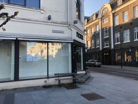 NY BUTIKK: På lørdag er det klart for åpning av klesbutikken byTiMo i Jernbanealleen.