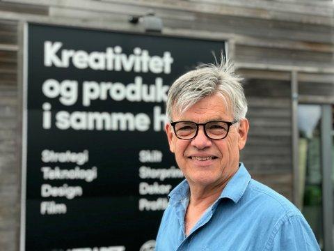 KLAR FOR FREMTIDEN: Gründeren av Reklameservice, Yngve Kapstad ,ekspanderer i et tøft marked.