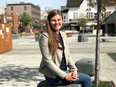 NY JOBB: Advokat Anne Grete M. Ytredal  trives i Sandefjord. Nå venter nye utfordringer som partner i advokatfirmaet HBL.