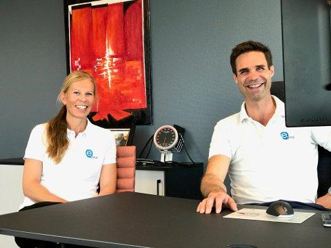 I ENDRING: E2 Helses daglig leder/lege Andreas Bjørang og avdelingsleder Bedriftshelsetjenesten Cecilie Vidum Bakke mener fleksibilitet og endrings villighet er viktigere enn noen gang i arbeidslivet.