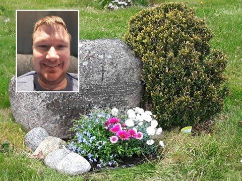 TENKTE NYTT: Etter 21 solgte Jan Tore Johannessen barnehagen han eide, og begynte med gravstell.