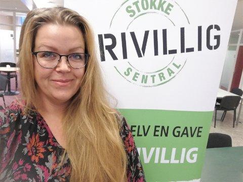 UNGDOMSLEDER: Ranita Gamst er ny i jobben som ungdomsleder ved Stokke Frivilligsentral.