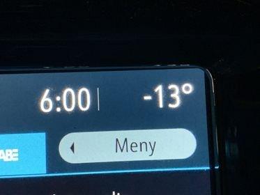 KULDEGRADER: Det begynner å bli ordentlig kaldt, men det varer ikke så lenge.
