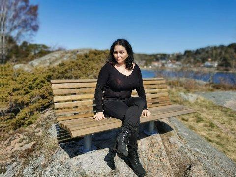 STOR DRØM: Victoria Rosvald (32) har en drøm om å starte sin egen sybutikk i Sandefjord.