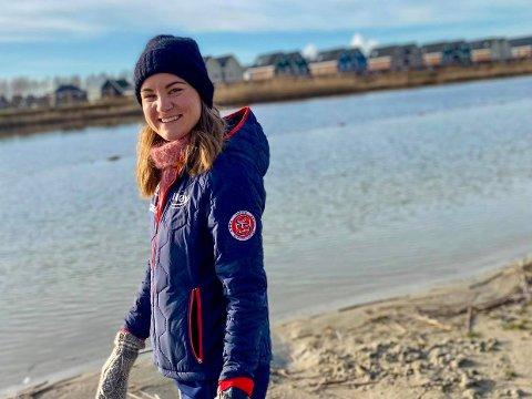GJØR COMEBACK: Skøyteesset Sofie Karoline Haugen (25) har tatt et viktig steg på veien mot OL. Nå har hun gjort comeback på landslaget. – Det føltes riktig å si ja til den plassen. Jeg håper og tror at det vil føre til en OL-plass, sier Sandefjord-kvinnen.