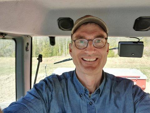 BONDE OG POLITIKER: Harald Moskvil er bonde og førstekandidat for Miljøpartiet De Grønne i årets stortingsvalg for Vestfold-valgkrets.