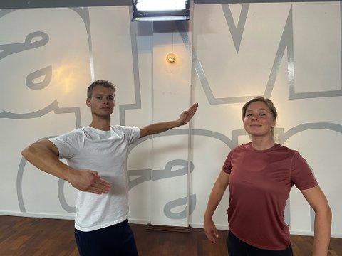 SENE KVELDER: Simon Nitsche tilbringer lange kvelder på treningssenteret sammen med skihopper Maren Lundby.